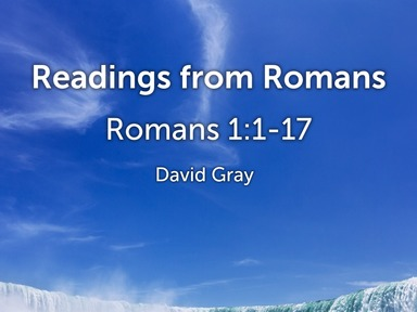 Readings from Romans 1