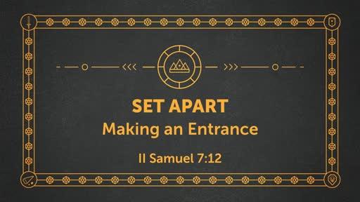 Set Apart Week Four