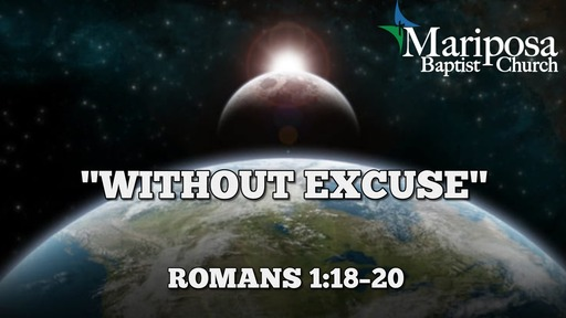 """""""Without Excuse"""" 