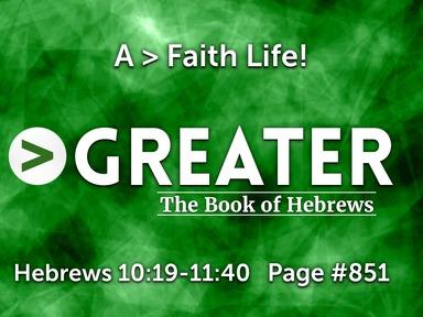 A > Faith Life!