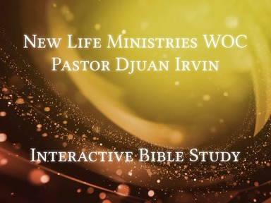 Bible Study 1st Wednesday March 4th