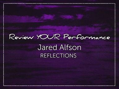 Review YOUR Performance