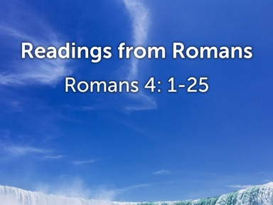 Readings from Romans