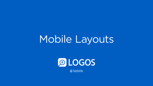 Mobile Layouts