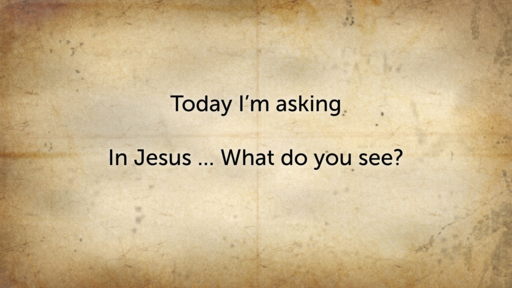 23.02.20 - In Jesus, what do you see? - Stephen Holt