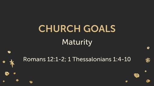 Church Goals