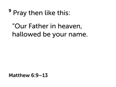 What  It Means to Pray for the Kingdom
