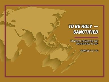 To Be Holy - Sanctified - RCN Worship 3 8 2020