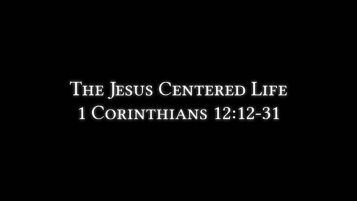 Jesus centered life