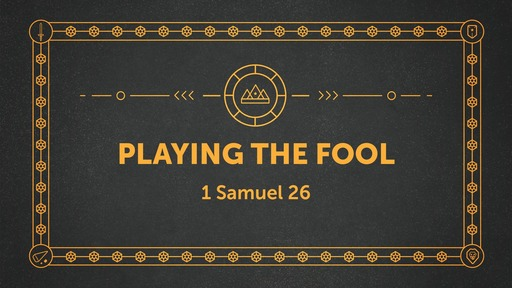1 Samuel 26