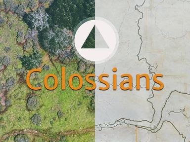 Colossians Series 08