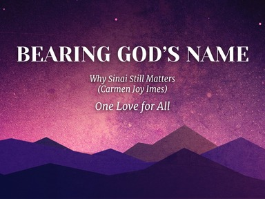 Bearing God's Name