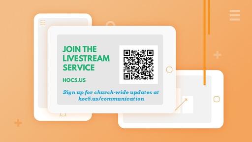 Sunday Service 2020-03-08