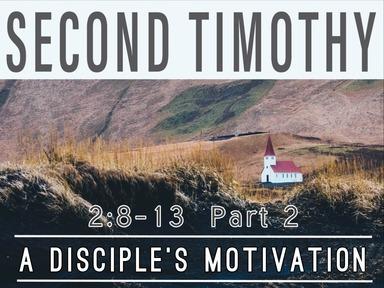 A Disciple's Motivation