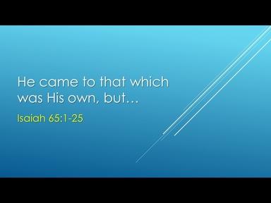 Isaiah 65:1-25