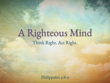 A Righteous Mind