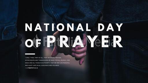 National Day of Prayer Holding