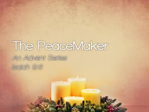 The PeaceMaker - December 4, 2016
