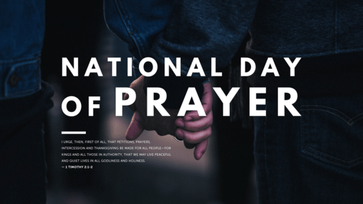 National Day of Prayer Holding