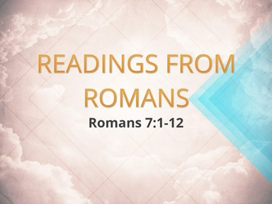 Readings from Romans 10