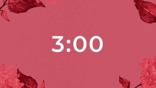 Countdown 3 min