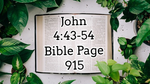 'That You May Believe' The Gospel of John