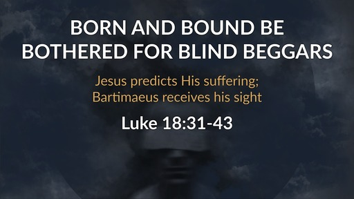 Outcasts - Luke: a Gospel for the Rejected