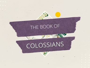 "Colossians 2 ""It's all fulfilled in Jesus"""