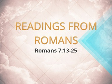 Readings from Romans 11