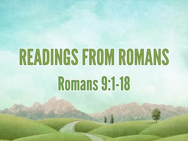 Readings from Romans 14