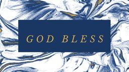 The Book of Job god bless 16x9 PowerPoint Photoshop image