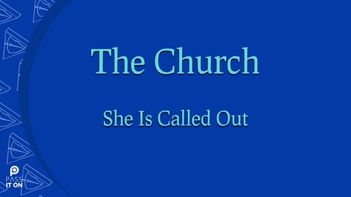 The Church Is Called Out