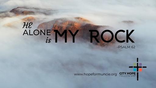 He Alone is My Rock