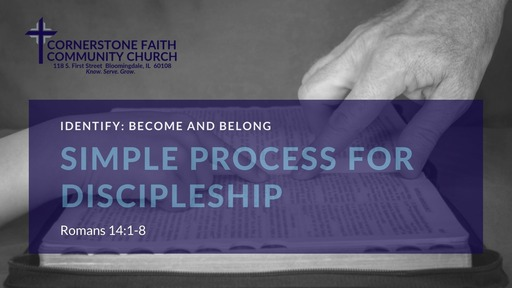 March 15, 2020 Message Recording for Identify: Become and Belong