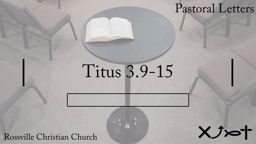 """Pastoral Letters"""