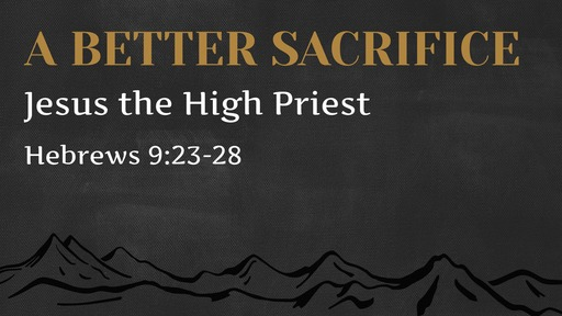 Hebrews 9:23-28 / Sacrifice