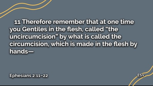 March 15, 2020   Ephesians 2   Unity in Christ