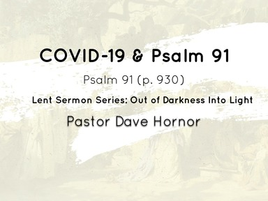 COVID-19 & Psalm 91