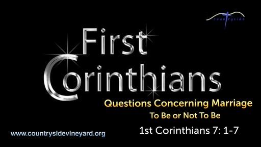 A Study of 1st Corinthians