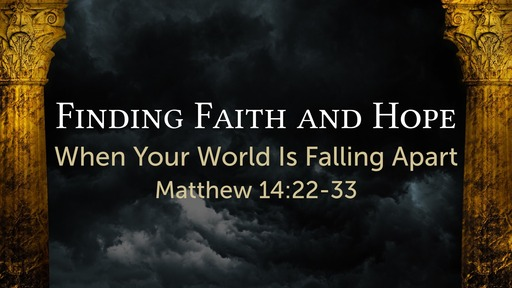 Finding Faith and Hope