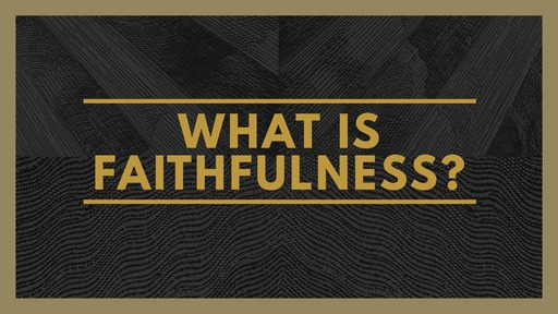 What is Faithfulness?