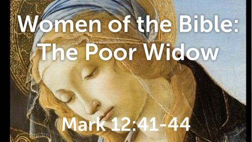 The Poor Widow