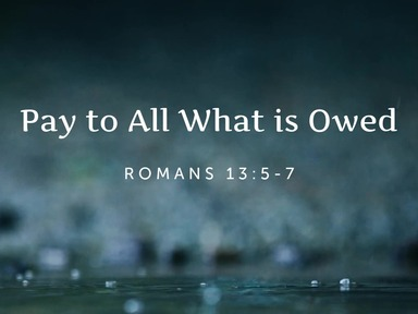 Pay to All What is Owed