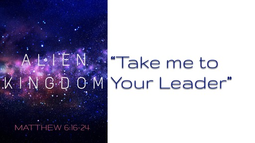 Take me to your leader - March 15