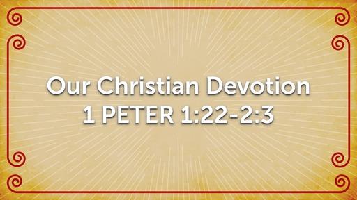 Our Christian Devotion