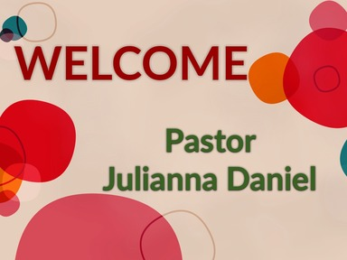 2020 Sunday March 15_Pastor Julianna Daniel