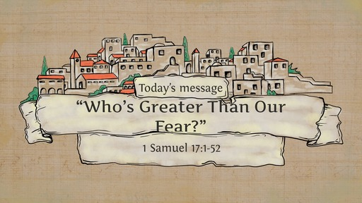 1 Samuel 17:1-52