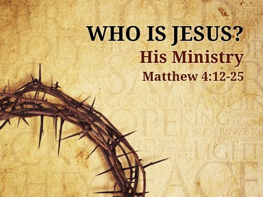Who is Jesus? part 2 Foundations