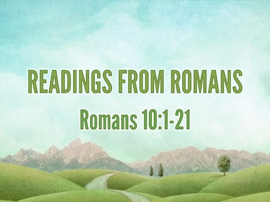 Readings from Romans 16