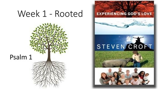 Experiencing God's Love Week 1 Rooted